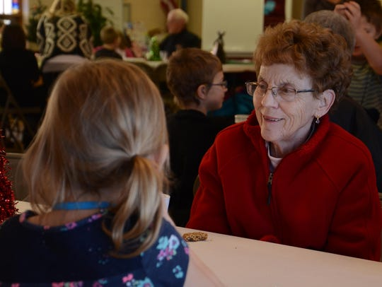 Peggy Curtis, a member of Christ United Methodist Church,