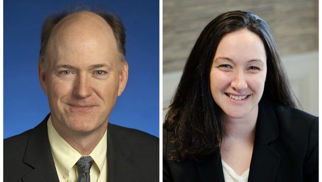 Sen. Steve Dickerson, R-Nashville, faces Democrat Erin Coleman in the Nov. 8 election.