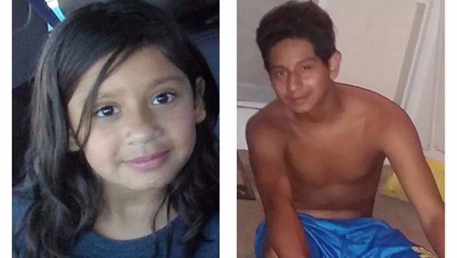 """Sparks police are searching for two missing children, Gloria """"Jasmine"""" Ramirez and Reimundo Edward Ramirez. The two siblings went missing sometime over the night Aug. 15, 2017."""
