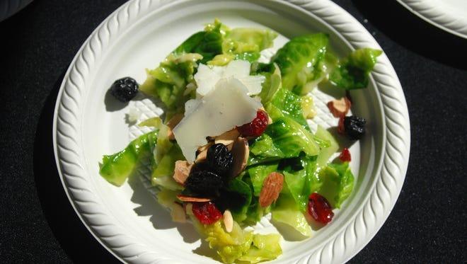 Chealsea's Kitchen's Brussels Sprout Salad.  Devoured at the Phoenix Art Museum Sat. March 13, 2010.