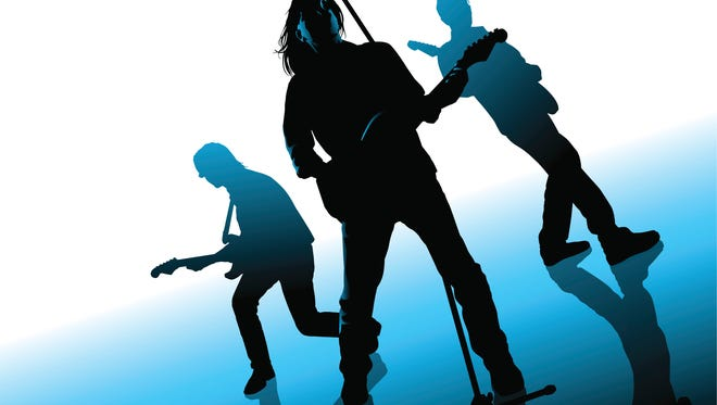 Illustration of three musicians