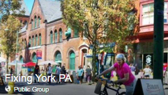 Fixing York is a Facebook-group-driven effort to improve