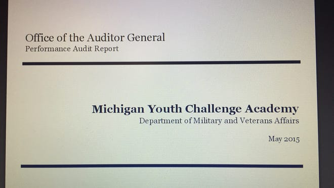 Michigan's auditor general has criticized the state's operation of a program for troubled youth.