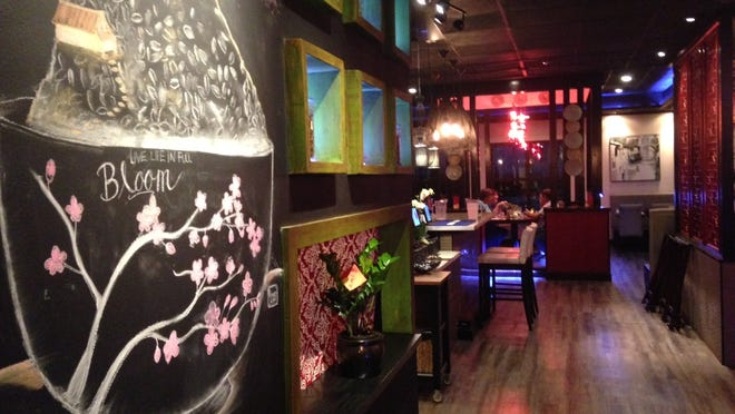Koi Asian Bistro serves up authentic Asian fare in a hip, but relaxed atmosphere. Owner, Kanas Lam, decorated the restaurant herself, from the comfy chairs to the sleek tables and lighting.