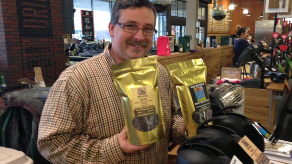 Rich Curry of Mount Laurel is owner of Rich's Micro Roast coffee line. He roasts inside The Station Coffee in Merchantville.