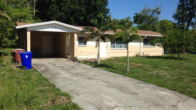 This house at 3112 Nelson St., Fort Myers, is part of a portfolio of properties recently purchased by CSMA FT LLC.