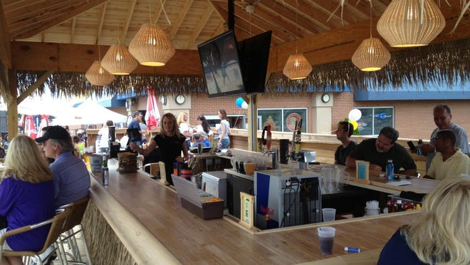 Toucan's Tiki Hut in Fishers offers patrons a tropical bar and dining experience during the summer season.