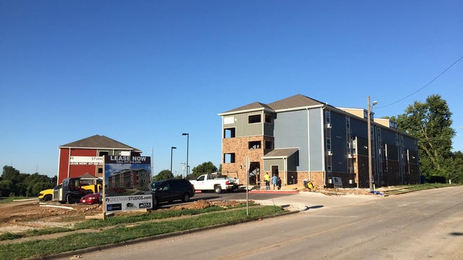 The apartment complex at the former site of a north Springfield church opened to residents earlier this month.