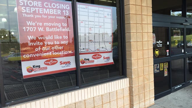 The Price Cutter store at 1720 W. Grand St. is closing.