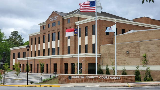 The Onslow County Courthouse in Jacksonville