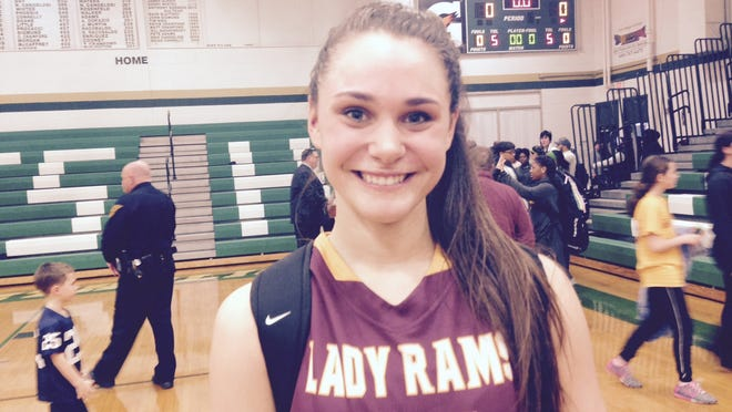 Gloucester Catholic junior forward Mary Gedaka had 18 points and nine boards in her team's win on Sunday.