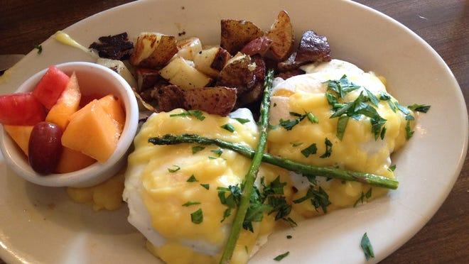 Eggs benedict from Tucker's.
