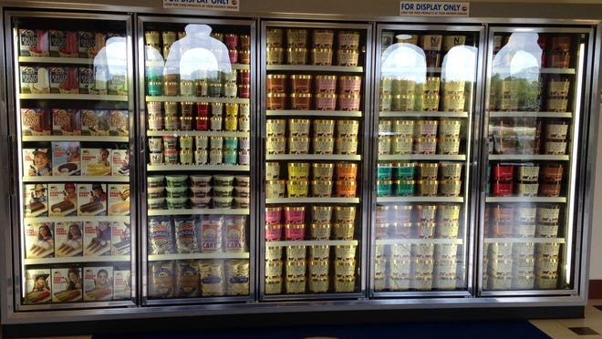 The scope of Blue Bell's offerings.