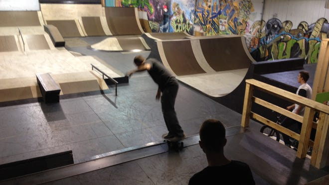 The new skate park was constructed by a carpenter and professional BMX rider. Renovations cost $15,000.