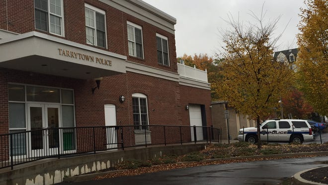 The Tarrytown Police Department, seen Thursday. The police chief and a lieutenant are named in a federal lawsuit.