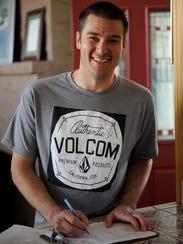 Bradley Barton, 31, signs back in at Koinonia Homes