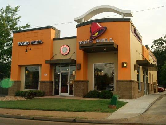 Taco Bell located on Northside Drive in Jackson, Miss.