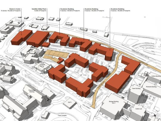 FSU intends eventually to demolish all four westside