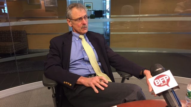 Lake Champlain Regional Chamber of Commerce president and CEO Tom Torti joins the Burlington Free Press Editorial Board Tuesday.