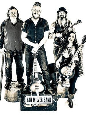 The Ben Miller Band will perform at 9:30 p.m. Saturday at Iowa City Yacht Club.