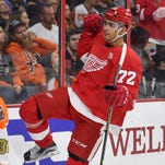 Detroit Red Wings regain speedy Andreas Athanasiou