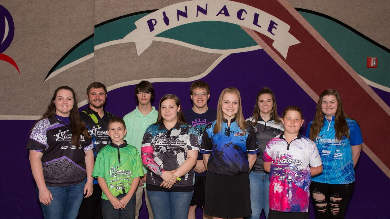 Clarksville's Junior Gold Bowling Championship team is headed to the Junior Gold championships in Cleveland, Ohio this July. The youngest player is 9 years old, and several hope to go professional one day.