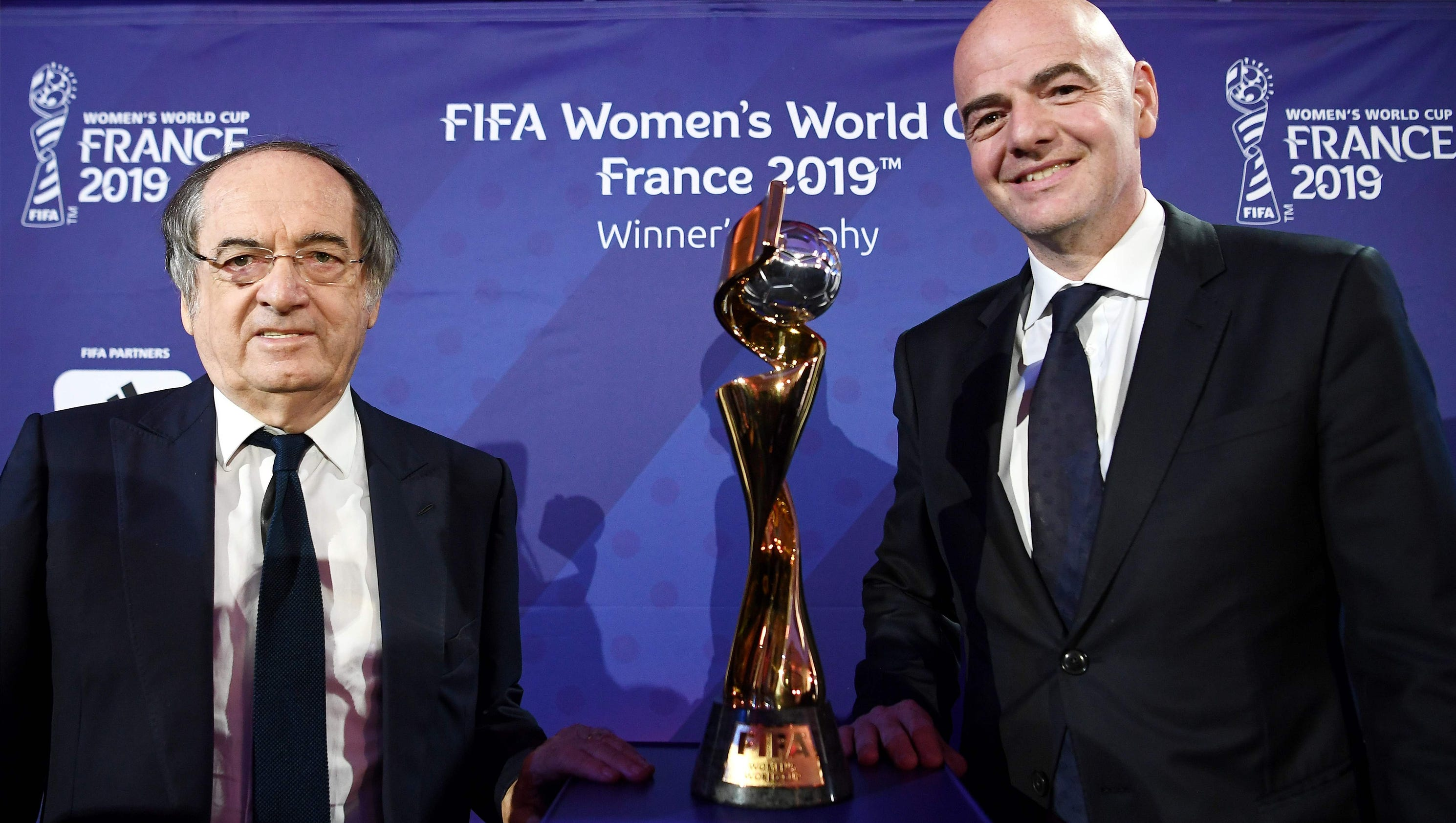 FIFA president sets goal of one billion viewers for 2019 Women's World Cup