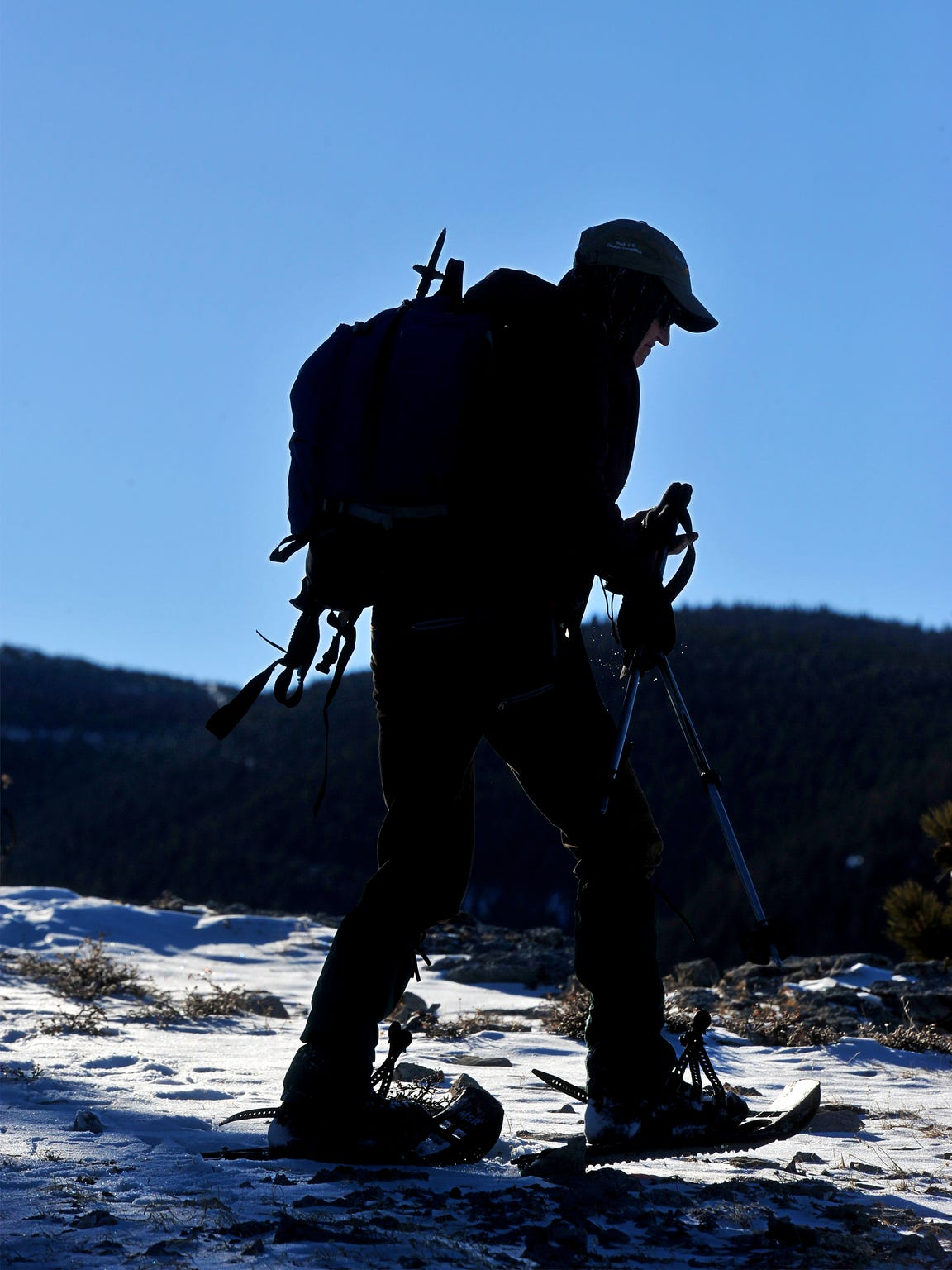 Laurie Lohrer hikes into the Big Snowies Wilderness