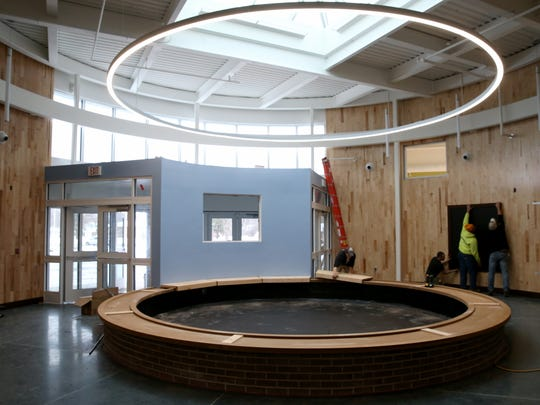 Construction is nearing completion at the new Henrietta recreation center.