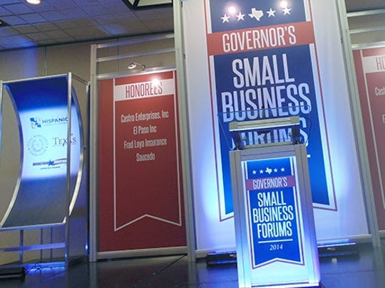 El Paso will host the first of 10  Governor's Small Business Forums in Texas this year.