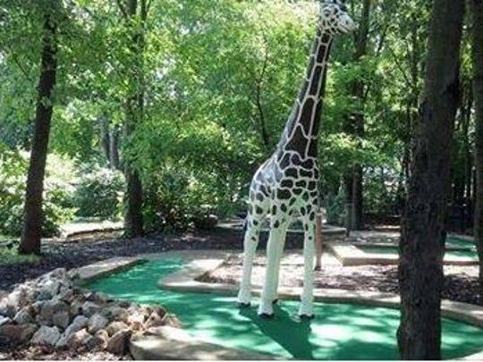 The giraffe was stolen several years ago from the golf course at Vince's Sports Center in Ogletown, but it was recovered and the man who stole it, already on probation, ended up going to prison for its felony theft.