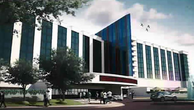 Biloxi Pointe Casino design