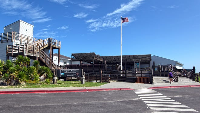Many of the improvements at Padre Island National Seashore are within the Malaquite Visitors Center.