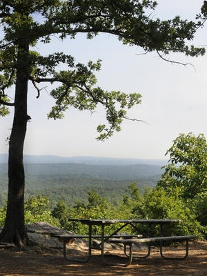 Oak Mountain State Park in Pelham in 2010. The state parks director announced Wednesday that four parks slated for closing would get a reprieve