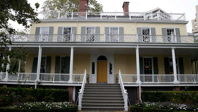 The exterior to Gracie Mansion, the New York City mayor's official residence, in 2013.