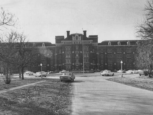 Central State Hospital Indiana Bahr Building