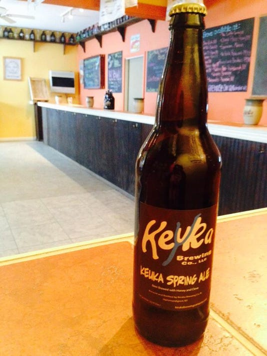 Keuka Brewing spring ale