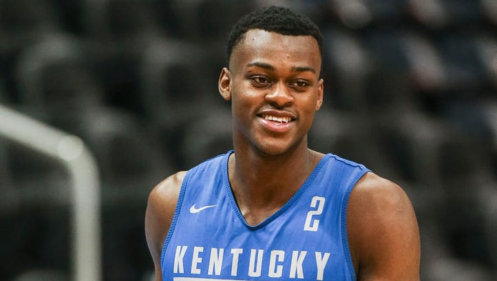 UK basketball's Jarred Vanderbilt entering NBA draft, not signing with an agent as of now
