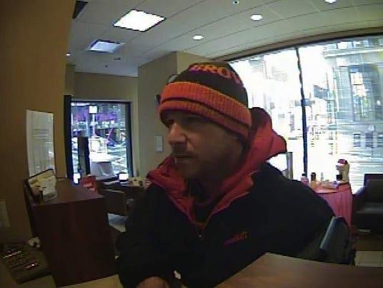 Key Bank suspect