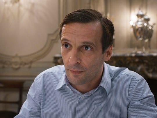 "Mathieu Kassovitz plays Thomas in ""Happy End."""