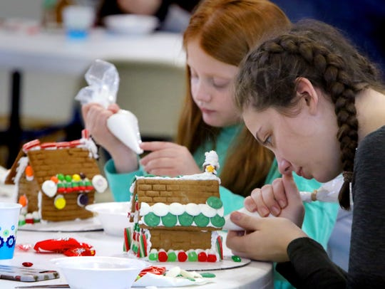 If you're looking for a fun activity the whole family can take part in,  Angela Vinet suggests building a Gingerbread House.