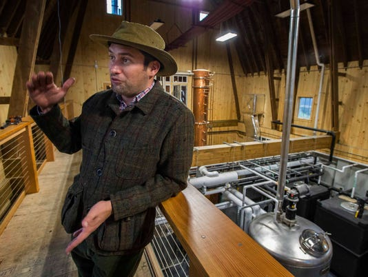 Vermont's WhistlePig whiskey fires up distillery