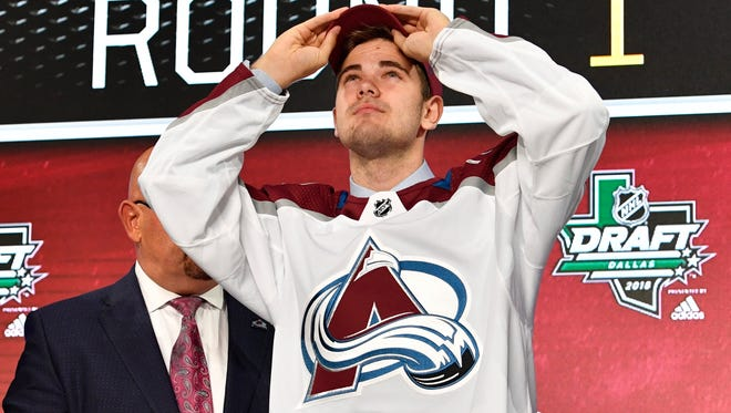 Colorado Avalanche first-round pick Martin Kaut could play with the Colorado Eagles during the 2018-19 season as the Eagles move up to the American Hockey League.