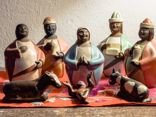​This joyful Nativity scene created in Spain is featured in the Nacimientos Open House on Sunday.
