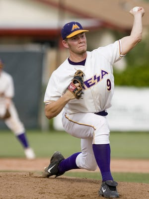 Former Mesa (Arizona) High pitcher Rudy Owens was  chosen in the the MLB draft by the Pittsburgh Pirates and went on to pitch one game for the Houston Astros.  Owens is scheduled to start Wednesday for the Somerset Patriots.