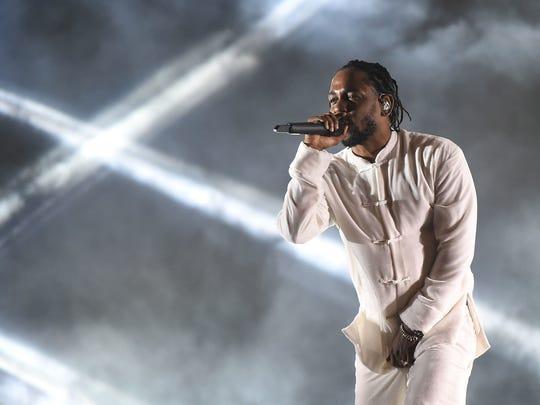 Kendrick Lamar headlines a Sunday, June 3, show at