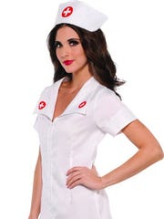 An adult nurse costume for under $20.