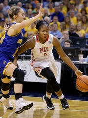 Jada Roberson and Pike reached the Class 4A state finals