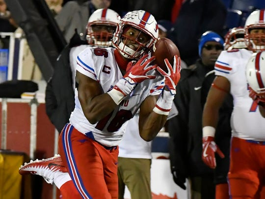 SMU's Courtland Sutton is a physically imposing receiver with outstanding production.