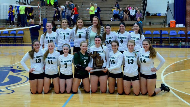 Portland St. Patrick won its first volleyball regional title in program history last month